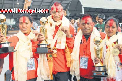 Nepal Finishes With Four Golds