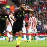 Premier League: Stoke 1-4 Manchester City, Aguero & Nolito Hit Doubles