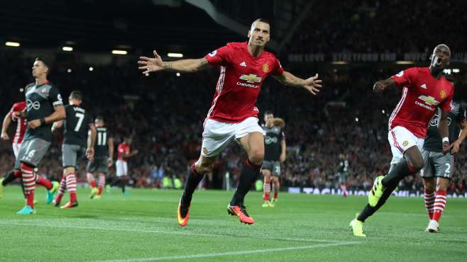 Pogba's Manchester United Debut Ended In A 2-0 Victory Over Southampton