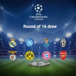 Champions League Last 16 Full Draw: Arsenal V Bayern Munich; Man City V Monaco; Leicester V Sevilla